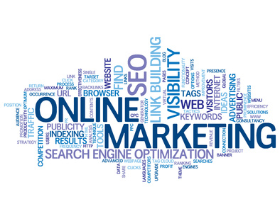 SEO by teufelgraphics - ONLINE MARKETING Tag Cloud (search optimisation link building)© Web Buttons Inc